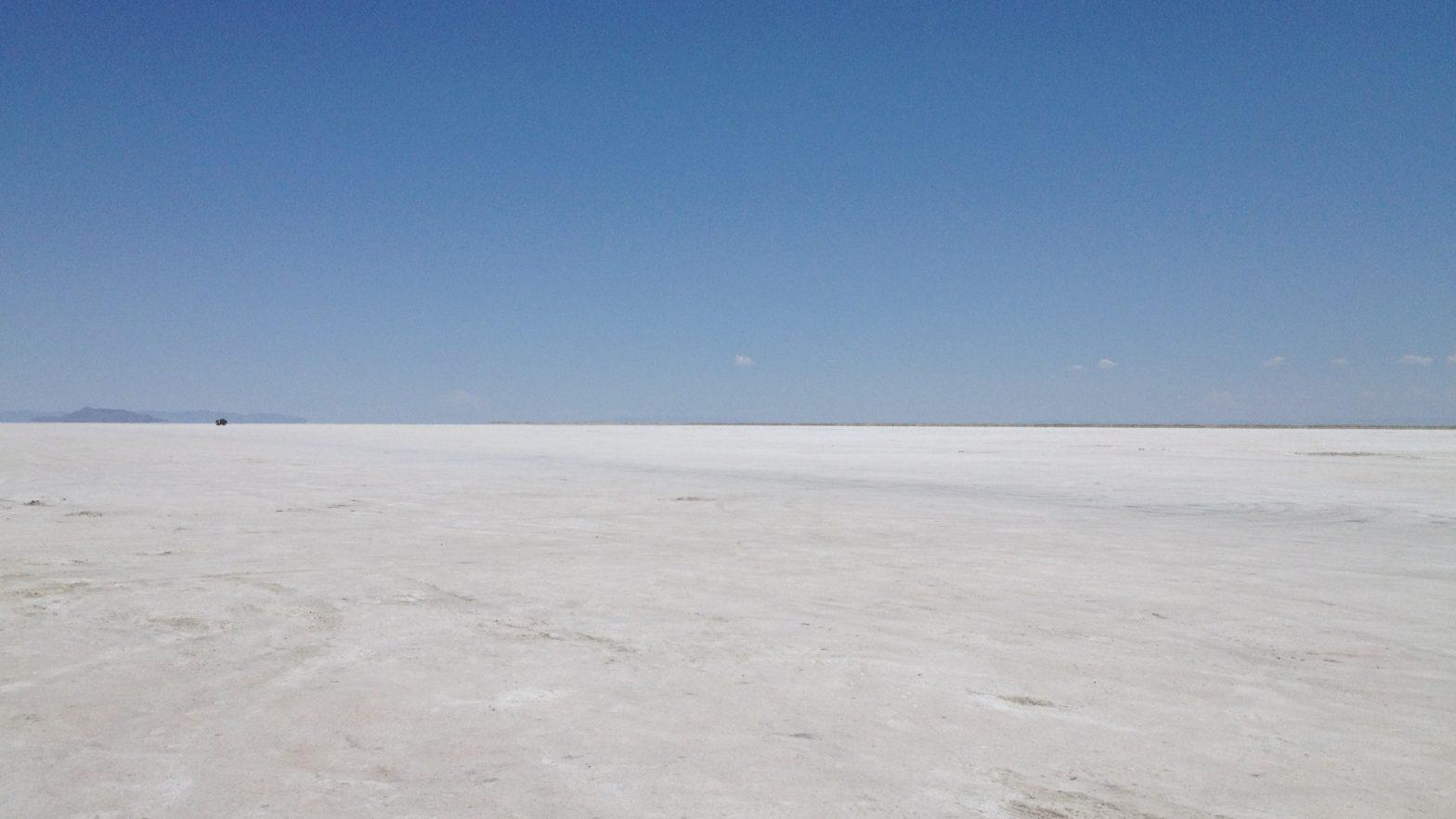 Utah Salt Flats, July, 2012